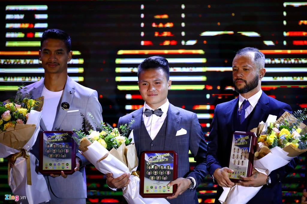 Quang Hải có tên trong đội hình tiêu biểu Đông Nam Á 2019