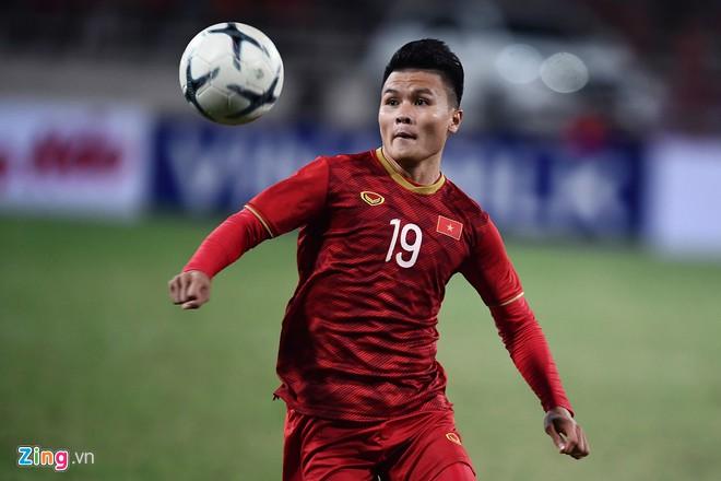 HLV Park Hang Seo muốn để dành Quang Hải cho trận đấu với Thái Lan