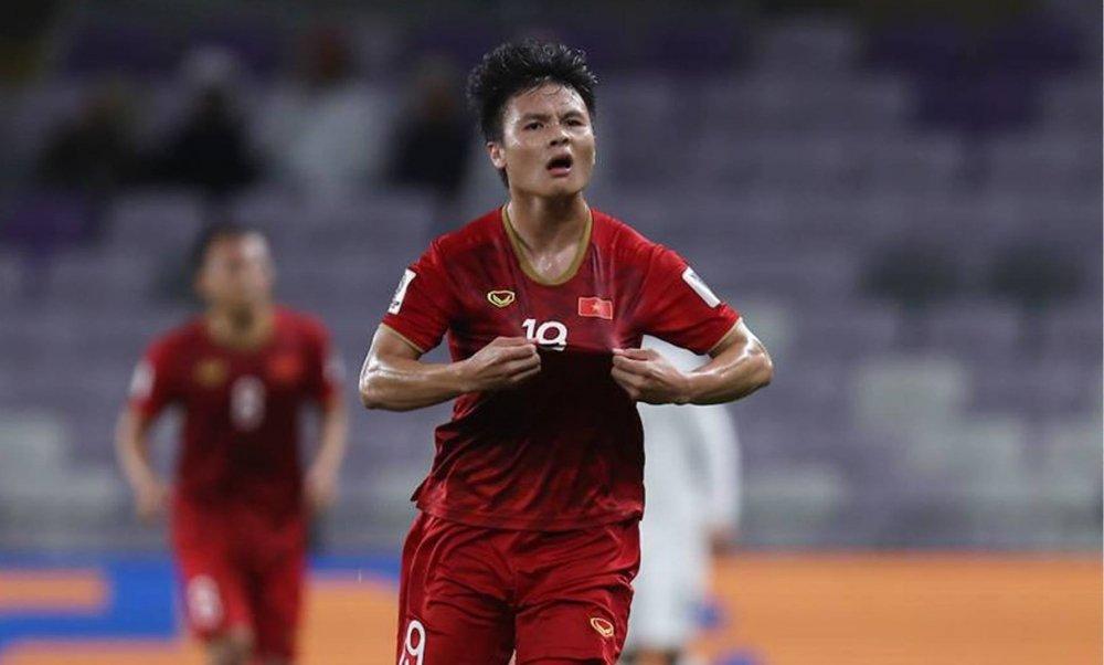 Quang Hải đang thi đấu rất nổi bật trong màu áo đội tuyển quốc gia