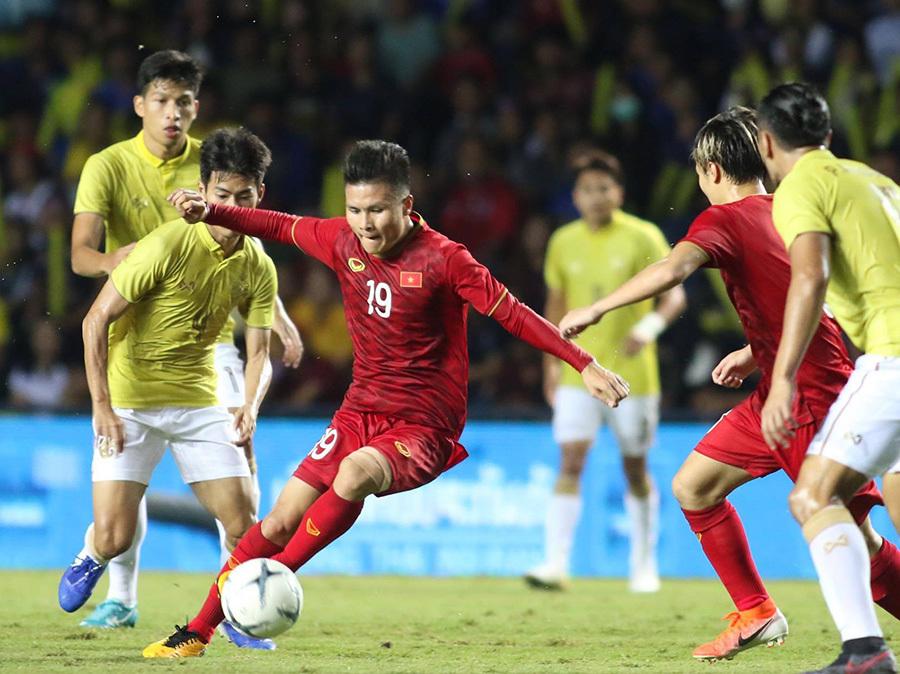 Không lâu sau trận đấu với UAE, tuyển Việt Nam sẽ tiếp tục có trận đấu quan trọng và đầy duyên nợ với Thái Lan