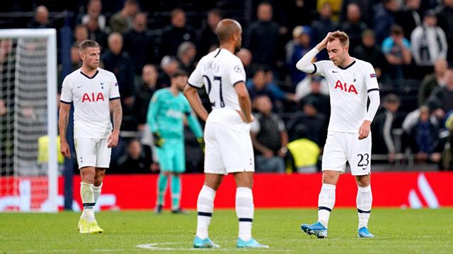 Tottenham tiếp tục không thắng ở Premier League